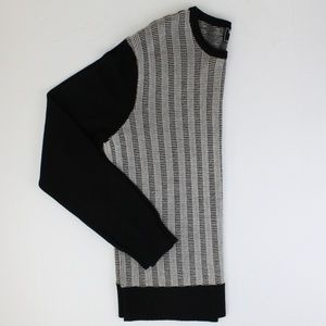 Todd Snyder Black & White Wool Sweater